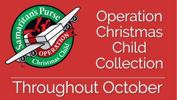 Operation Christmas Child Shoebox.Operation Christmas Child Shoebox Collection Stafford